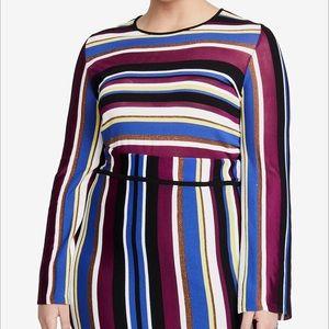 "RACHEL Rachel Roy Plus Strip ""Sweater"""